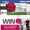 Win 1 of 2 LG French Door Fridges or 1 of 10 signed copies of Matt Moran's cookbook!