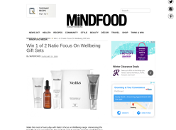 Win 1 of 2 Natio Focus On Wellbeing Gift Sets