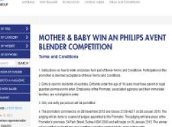 Win 1 of 2 Philips Avent blenders!