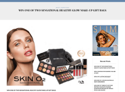 Win 1 of 2 Sensational Healthy Glow Make-up Gift Bag