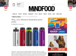 Win 1 of 2 Thermos Prize Packs