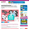 Win 1 of 2 Toddler Prize Packs