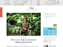 Win 1 of 2 trips to Sarawak Malaysian Borneo!