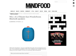 Win 1 of 2 Ultimate Ears Wonderboom Bluetooth speakers