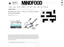 Win 1 of 2 Zyliss kitchen accessories packs