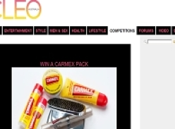 Win 1 of 20 Carmex lip care packs