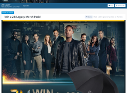 Win 1 of 24 '24: Legacy' merchandise packs!