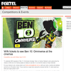 Win 1 of 25 family passes to see 'Ben 10 Omniverse'! (Foxtel Customers Only)