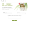 Win 1 of 3 $500 Natio gift vouchers