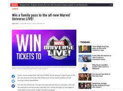 Win 1 of 3 family passes to the all