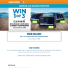 Win 1 of 3 Garmin UHD 95SV Echomap Fishfinders!