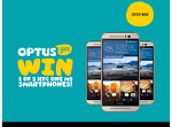 Win 1 of 3 HTC One M9 smartphones!