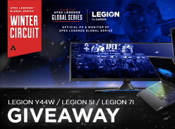 Win 1 of 3 Lenovo Legion 5i/7i Laptops
