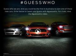 Win 1 of 3 new cars!