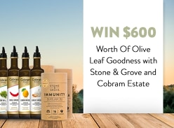 Win 1 of 3 Olive Goodness Packs