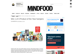 Win 1 of 3 Product of the Year hampers