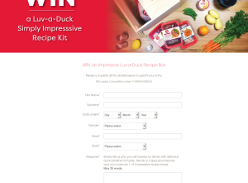 Win 1 of 3 Simply Impressive Recipe Boxes