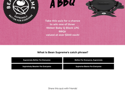 Win 1 of 3 Weber Baby Qs