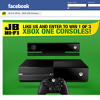 Win 1 of 3 XBOX One consoles!