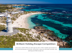 Win 1 of 4 Accommodation Packages