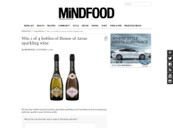 Win 1 of 4 bottles of House of Arras sparkling wine!