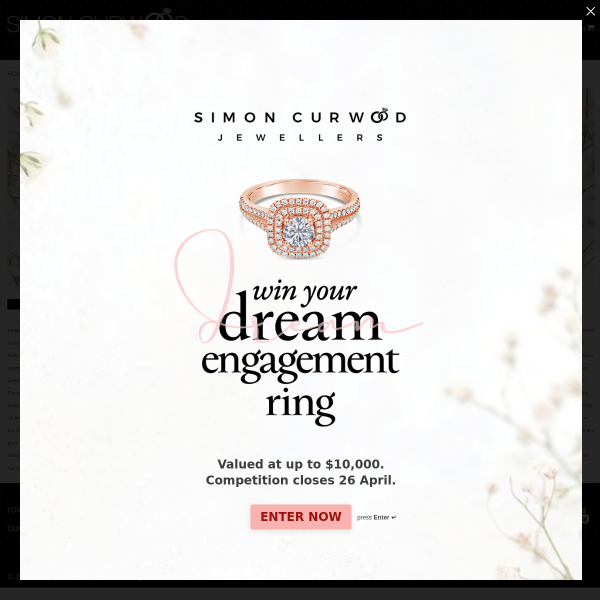 Win 1 of 4 custom-made engagement ring