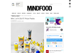 Win 1 of 4 DU'IT Skincare Packs