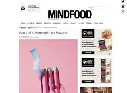 Win 1 of 4 Mermade Hair Wavers!