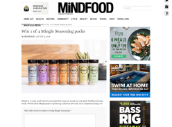 Win 1 of 4 Mingle Seasoning packs