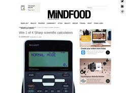 Win 1 of 4 Sharp Scientific Calculators