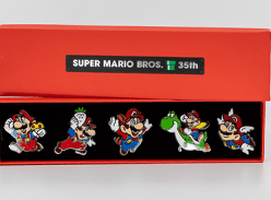 Win 1 of 440 Mario Pin Sets