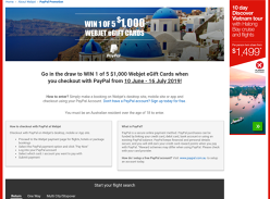 Win 1 of 5 $1,000 Travel Giftcards