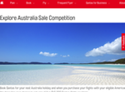 Win 1 of 5 $10,000 QANTAS flight vouchers!