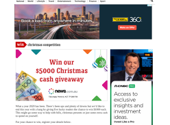 Win 1 of 5 $1000 Christmas Cash Prizes!