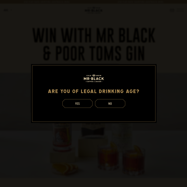 Win 1 of 5 Coffee Liqueur & Gin Packs