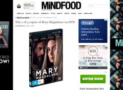 Win 1 of 5 copies of Mary Magdalene on DVD