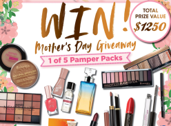 Win 1 of 5 Cosmetic & Fragrance Packs