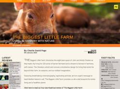 Win 1 of 5 Double Passes to The Biggest Little Farm