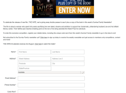 Win 1 of 5 double passes to 'The Wife' plus copy of the book