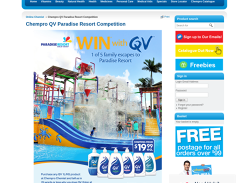 Win 1 of 5 Family escapes to Paradise Resort!