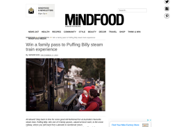 Win 1 of 5 Family Passes to Puffing Billy Steam Train Experience