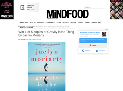 Win 1 of 5 Gravity Is The Thing Books