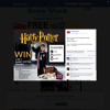 Win 1 of 5 'Harry Potter' trunks!