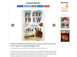 Win 1 of 5 'Islands' Books