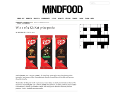 Win 1 of 5 Kit Kat Prize Packs