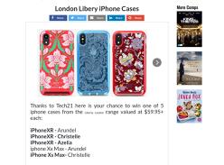 Win 1 of 5 Liberty Phone Cases