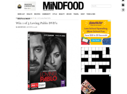 Win 1 of 5 Loving Pablo DVD's