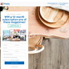 Win 1 of 5 Magazine Subscriptions