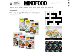 Win 1 of 5 Maggi Marketplace prize packs