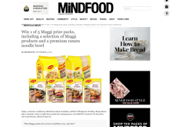 Win 1 Of 5 Maggi Prize Packs
